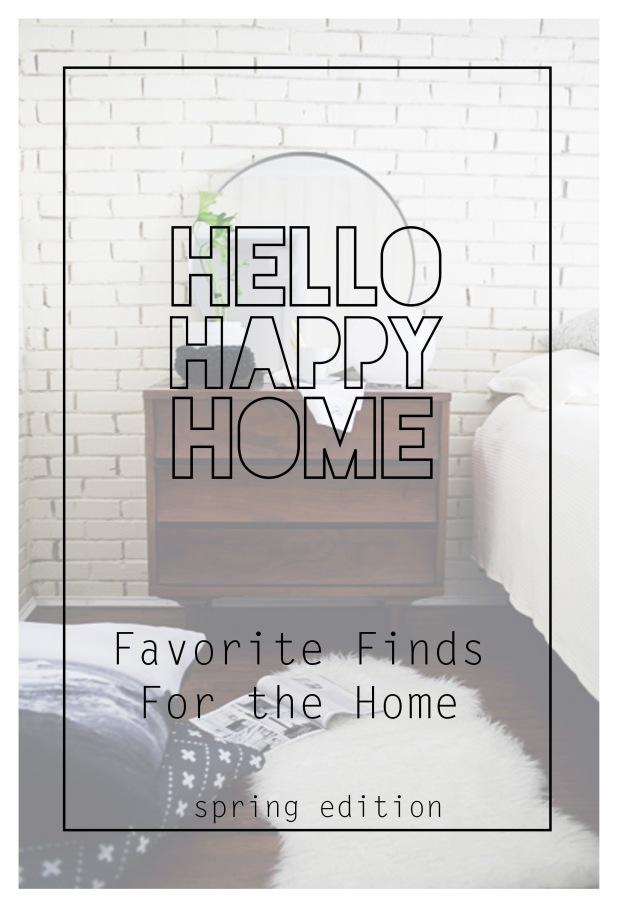 Los Vallejos   Home Finds Spring Edition