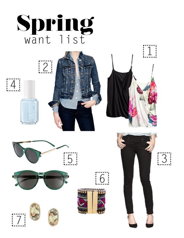 Los Vallejos | Spring Wantlist
