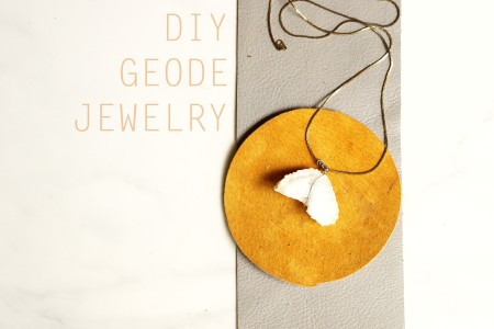 Geode Jewelry DIY Cover